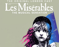 les miserables musikal i london