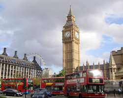Sevärdheter och attraktioner London - Big Ben