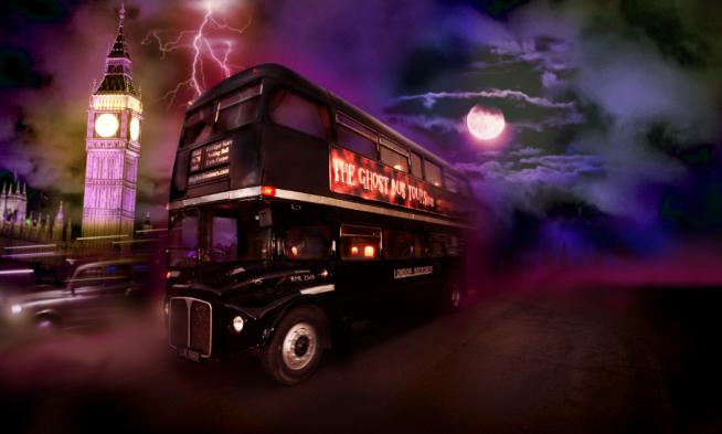 ghost bus London