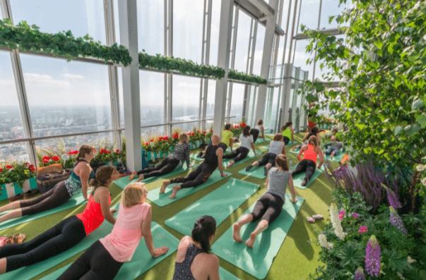 Yoga The Shard
