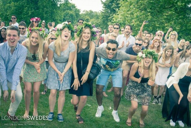midsummer dancing london
