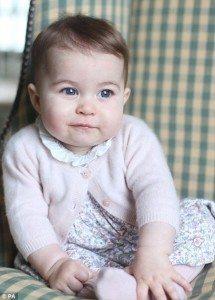 Prinsessan Charlotte. Källa: Hertiginnan av Cambridge.