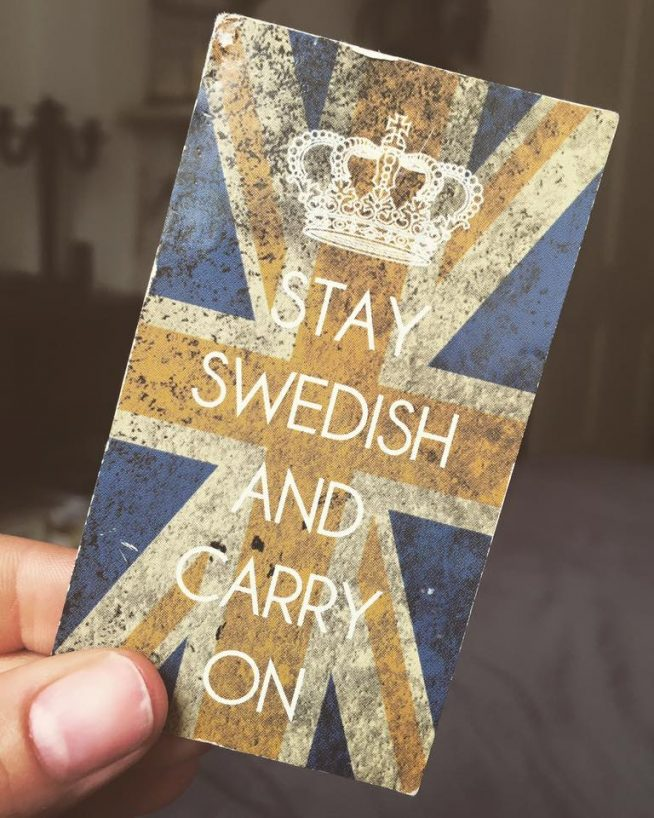 Stay Swedish and Carry on