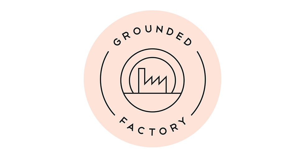 Grounded factory logo