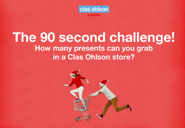 Clas Ohlson 90 second challenge