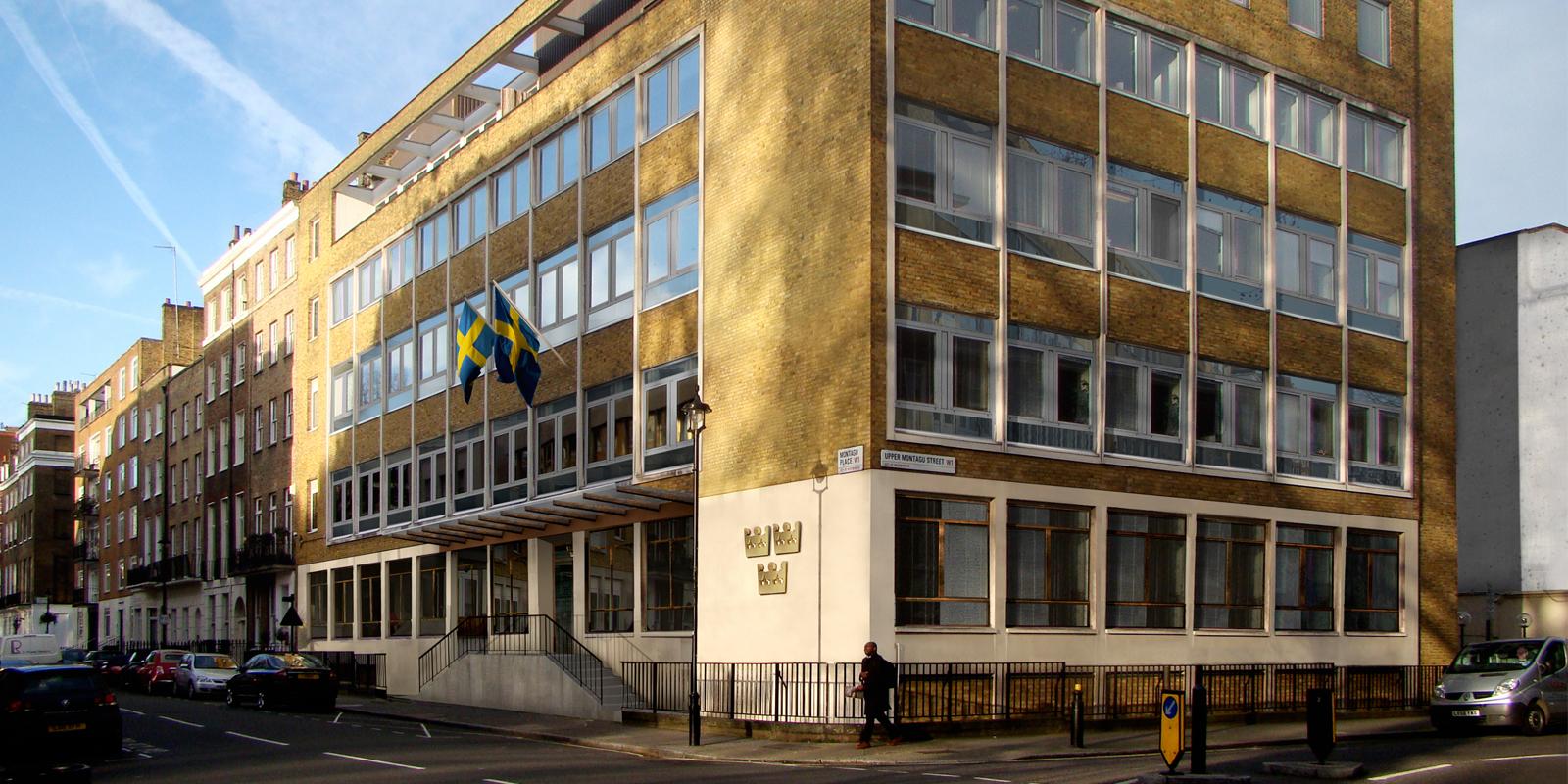 Praktikanter till Svenska ambassaden i London