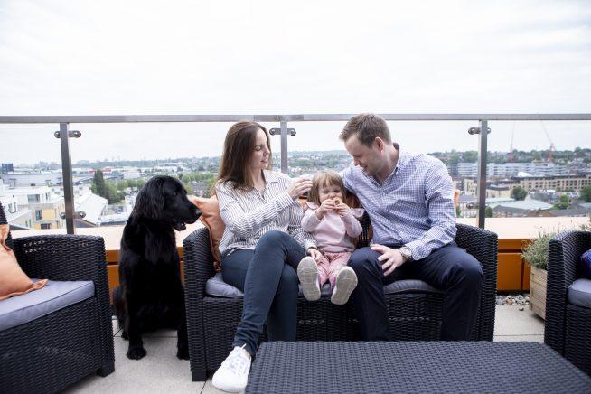 familj i london